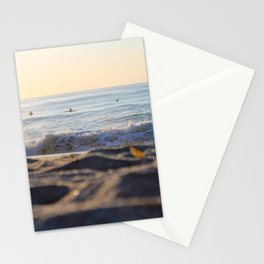 Surfers in the Morning Light Stationery Cards