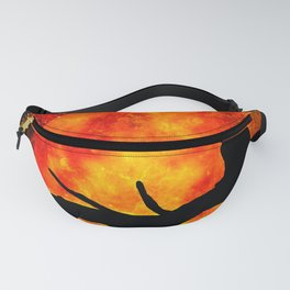 BLACK CAT Fanny Pack