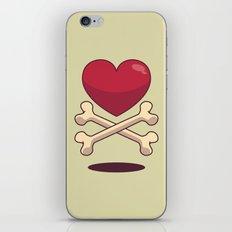 bone up on love iPhone & iPod Skin