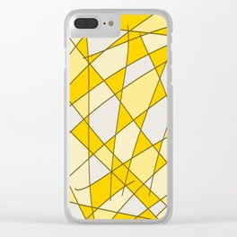 Seasons Drift Clear iPhone Case