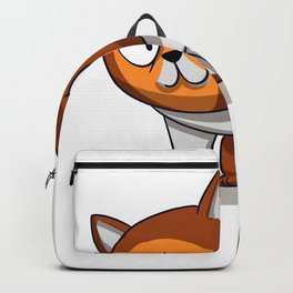 Angry cat - cute cat - funny cat Backpack