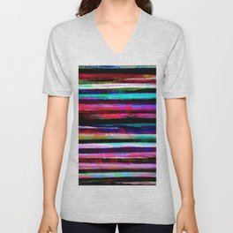 bohemian colorful pattern Unisex V-Neck