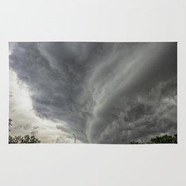 Cloud Wall Turning Rug