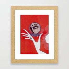 """Art Deco Design """"Compact - Vanities"""" by Erté Framed Art Print"""