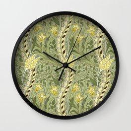 "William Morris ""Daffodil"" Wall Clock"