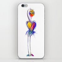 swan iPhone & iPod Skins featuring swan by tatiana-teni