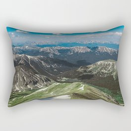 Summit the 14er Rectangular Pillow