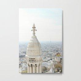 View of Paris from Sacré-Cœur Metal Print