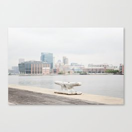 A harbor view Canvas Print