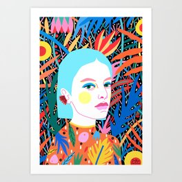 Color Purity Art Print