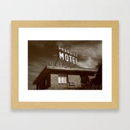 Route 66 - Paradise Motel 2008 Framed Art Print