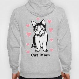 Cat Mom Hoody