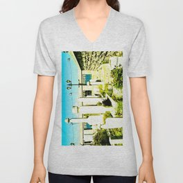 A very sacred place. Unisex V-Neck