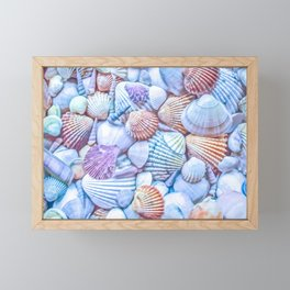 Seashells Everywhere Framed Mini Art Print