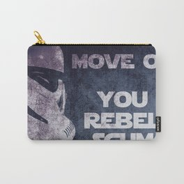 Storm Trooper Grunge Move Out Carry-All Pouch
