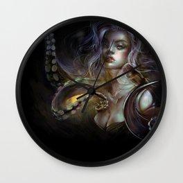 Unfortunate souls - Ursula octopus Wall Clock