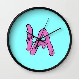Drip LA Bones  Wall Clock