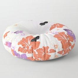 Flower Time! Floor Pillow