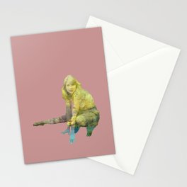 Woman Gone Rogue Stationery Cards