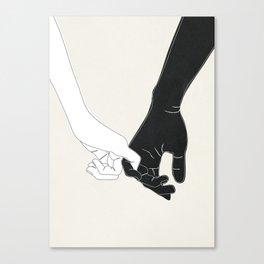 Pinky Promise II Canvas Print