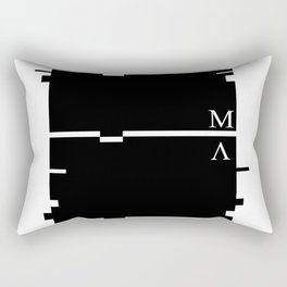 Cryptic Rectangular Pillow