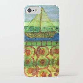Sailing Ship in a Tin  iPhone Case