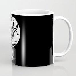 SURF OVER THE MOON Coffee Mug