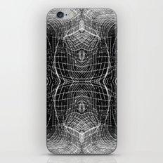 black & white waves iPhone & iPod Skin