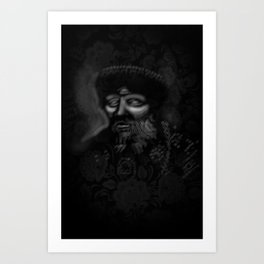 The Ghost of Ivan The Terrible Art Print