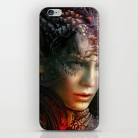 dragons iPhone & iPod Skins featuring Dragons by Nell Fallcard