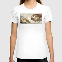 Michelangelo - Creation of Adam T-shirt