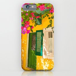 Living in the sunshine. Always. #painting iPhone Case