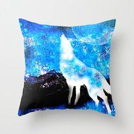 Wolf #33 Throw Pillow
