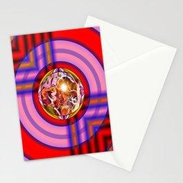 Round Peg round Hole Stationery Cards