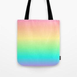 Pastel Rainbow 2 Tote Bag
