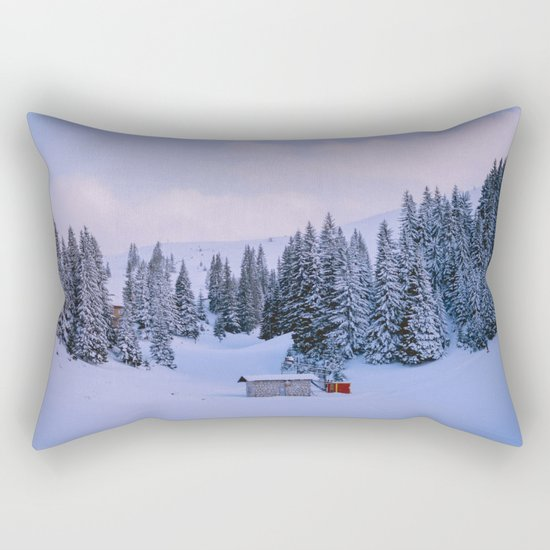 In Middle Of Everywhere Rectangular Pillow
