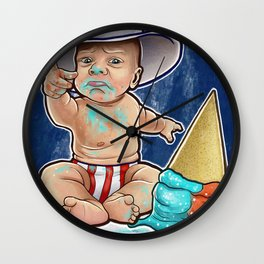 Sammy Boy Wall Clock