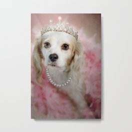 Lady Beatrice Metal Print