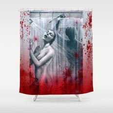 Shower Slasher Shower Curtain