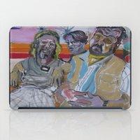 lebowski iPad Cases featuring The Big Lebowski by Robert E. Richards