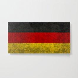 Flag of Germany - Vintage version Metal Print