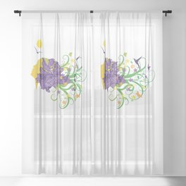 Mother Naure Sheer Curtain