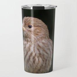 Little brown bird Travel Mug