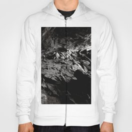 Black And White Cave Hoody