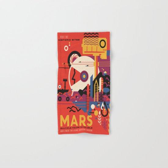 Mars Tour : Space Galaxy Hand & Bath Towel