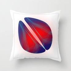 Circle Study No. 481 Throw Pillow