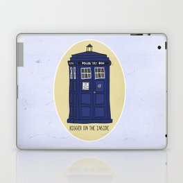 "Doctor Who: TARDIS - ""Bigger on the inside"" Laptop & iPad Skin"