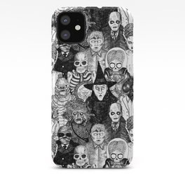 Horror Film Monsters iPhone Case