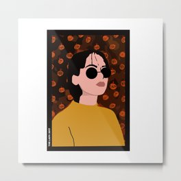 The Lady - P1 Metal Print