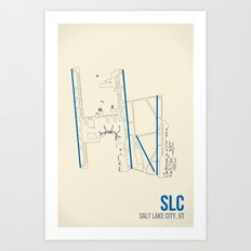 SLC Art Print